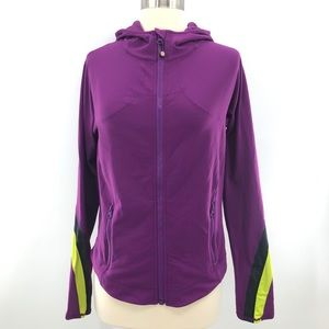Lululemon Half Moon Ponytail Purple Jacket Size 12